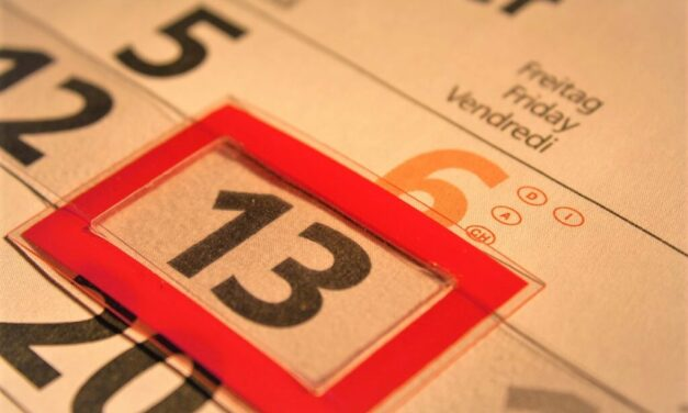 How to Overcome Paraskevidekatriaphobia or the Fear of Friday the 13th?